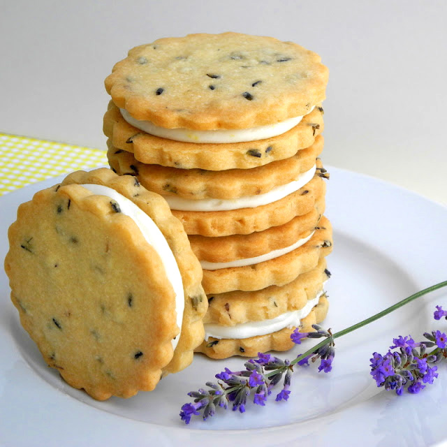 Lemon Filled Lavender Shortbread Cookies - From Calculu∫ to Cupcake ...