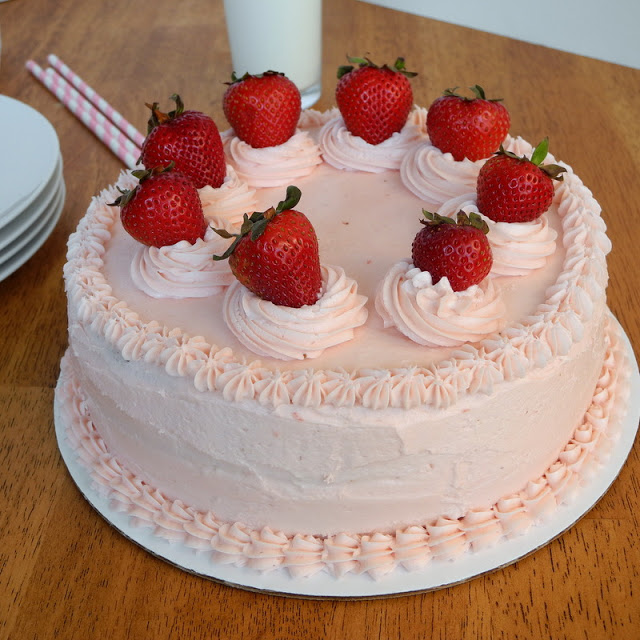 Southern Strawberry Cake for My Dad's Birthday - From Calculu∫ to ...