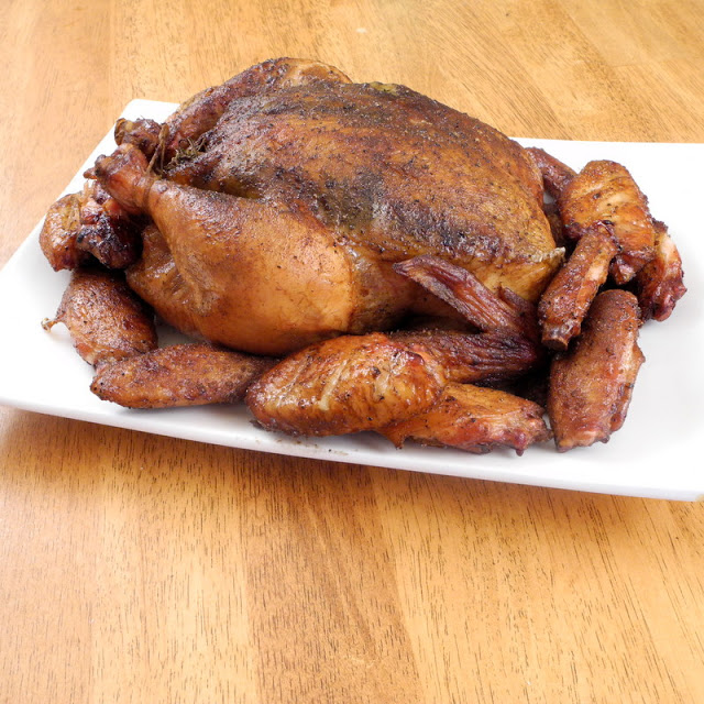 My Husbands Fabulous Smoked Chicken And Chicken Wings From