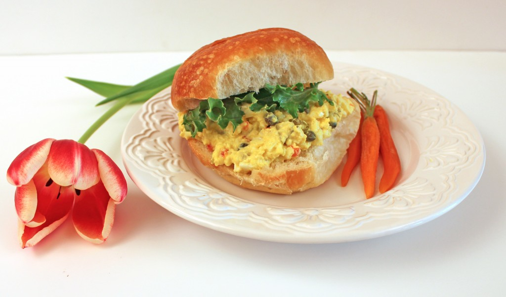 Happy Easter and an Egg Salad Recipe to Help You Use Up Your Dyed Eggs