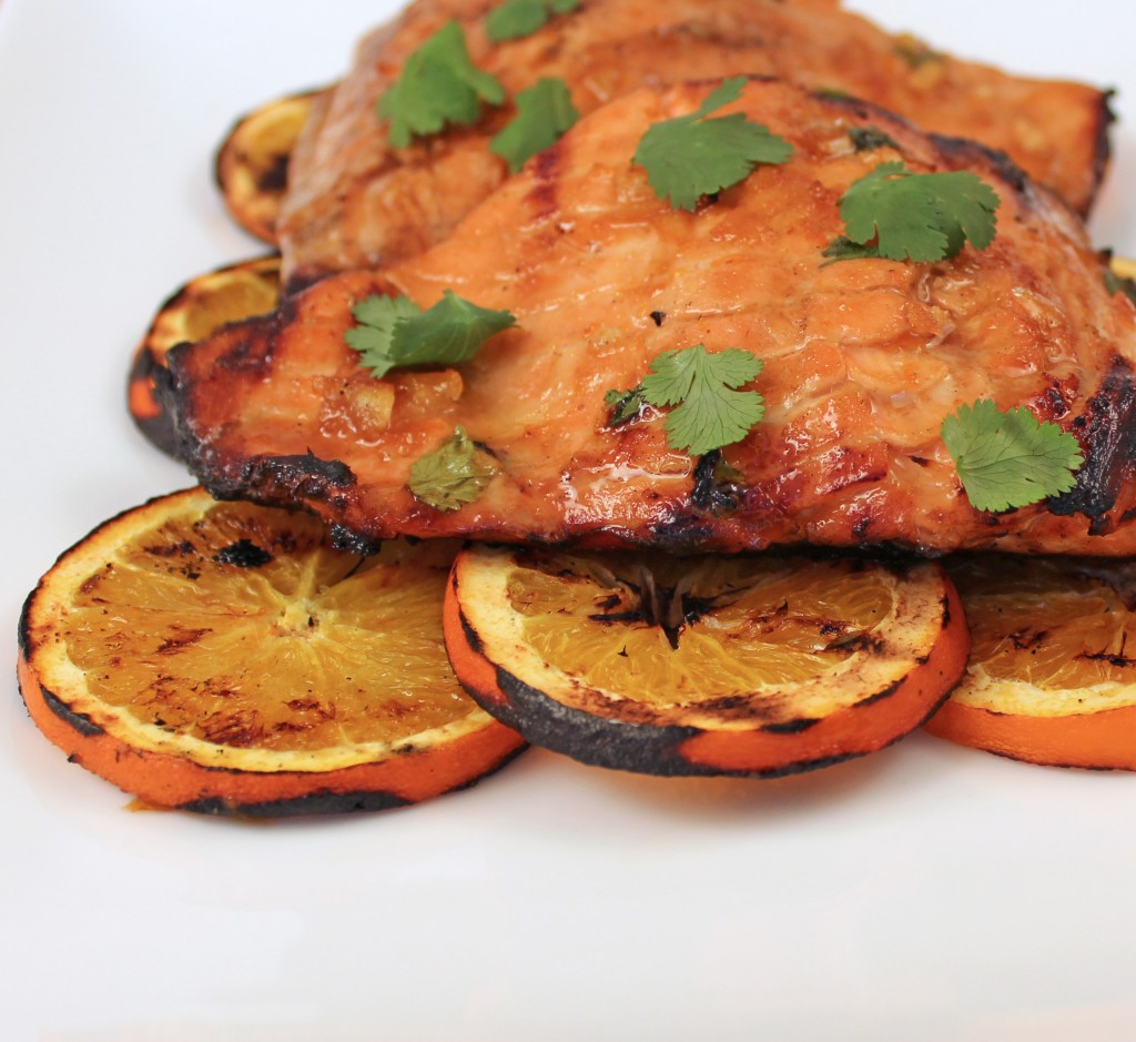 Orange Ginger Salmon