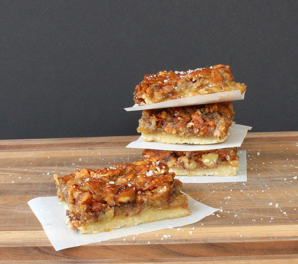Salted Pecan Pie Bars - From Calculu∫ to Cupcake∫