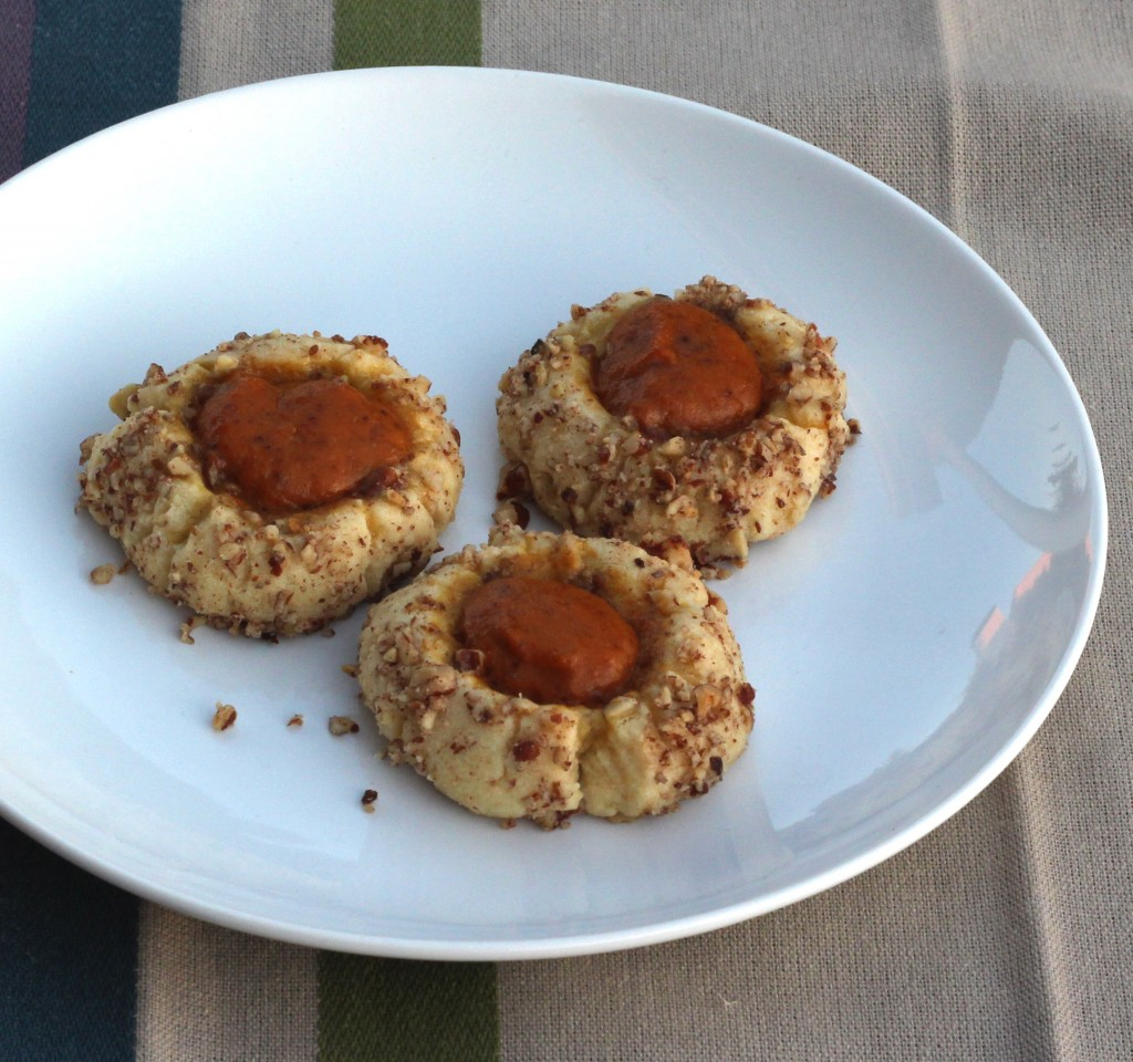 Pumpkin Thumbprint Cookies 3