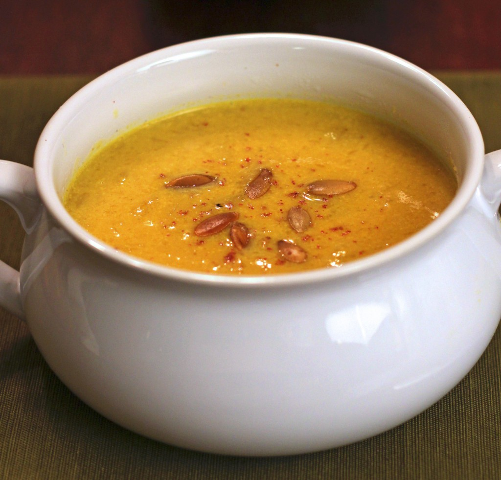 Creamy Curried Pumpkin Soup - From Calculu∫ to Cupcake∫