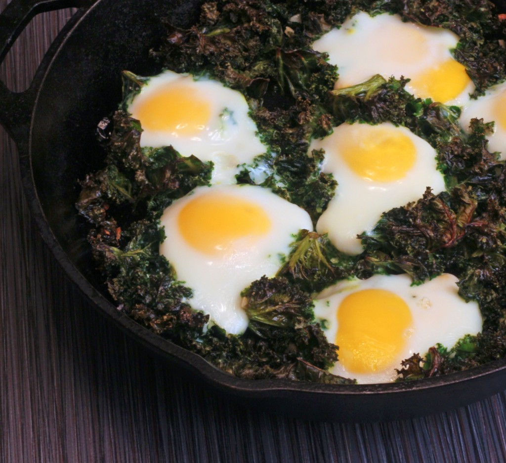 Baked Eggs and Kale - From Calculu∫ to Cupcake∫