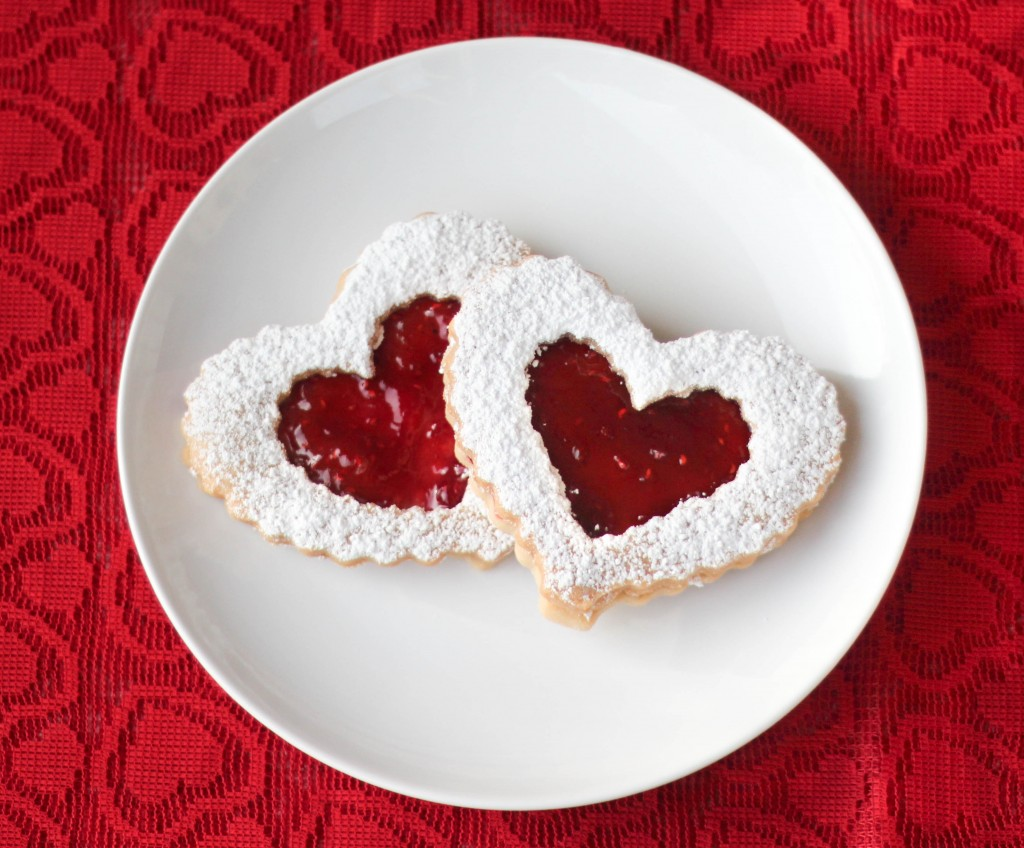 Valentine's Day Linzer Cookies - From Calculu∫ to Cupcake∫