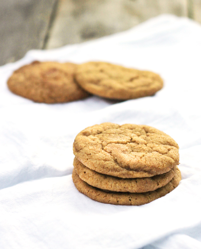 Pumpkin Snickerdoodles for #fillthecookiejar - From Calculu∫ to ...