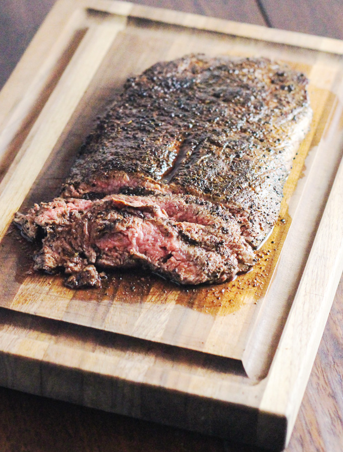 Coffee Rubbed Flank Steak for Man Food Mondays - From Calculu∫ to ...