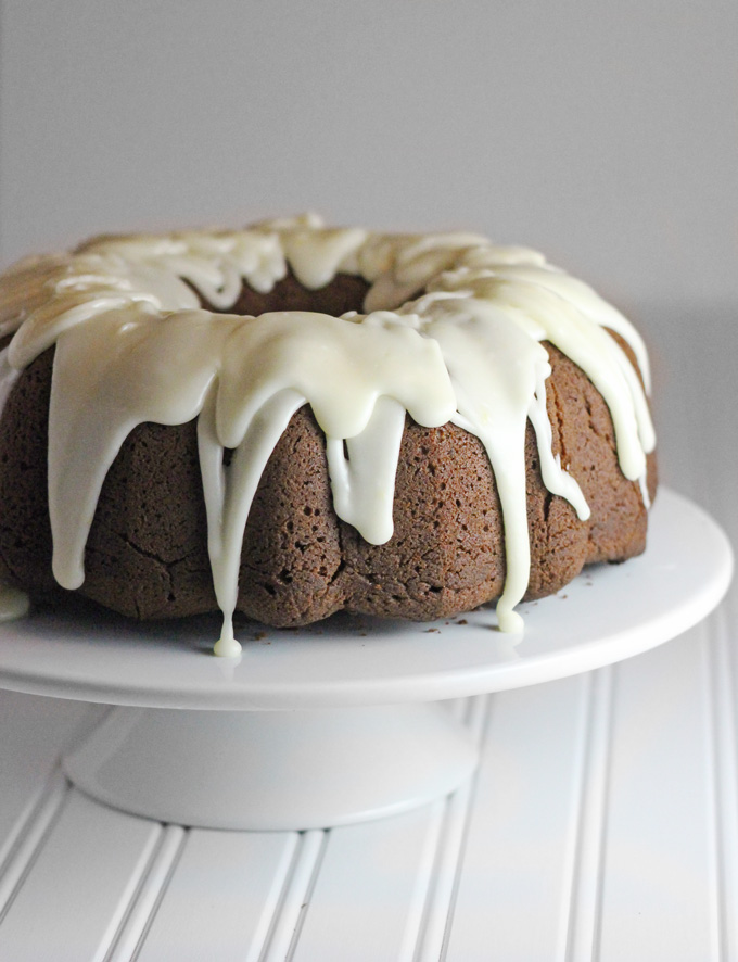 Cream Cheese Pound Cake With Citrus Glaze Recipe — Dishmaps