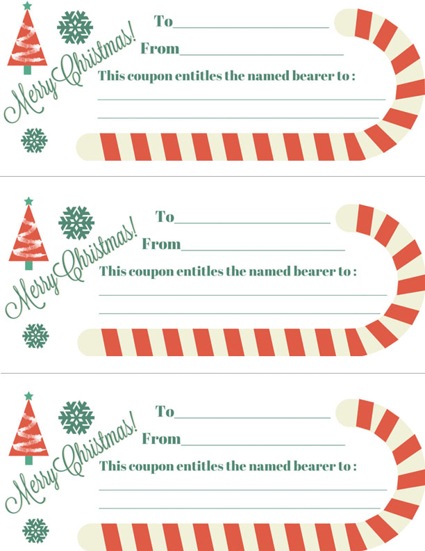 It is an image of Breathtaking Free Printable Christmas Coupons